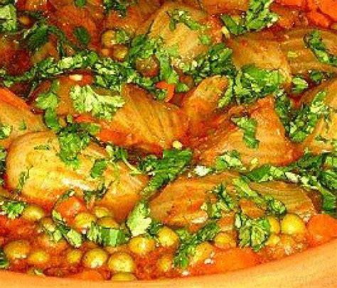 cuisine tunisienne arabe tajine de fenouils et petits pois recette de cuisine