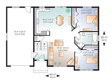 small split level house plans small home plans affordable split level house plan 027h 0304 at thehouseplanshop com