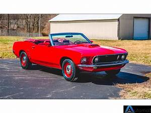 1969 Ford Mustang Convertible Candyapple Red | Red 1969 Ford Mustang Convertible in San ...