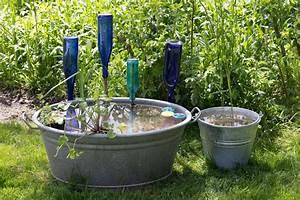 Miniteich Anlegen Zinkwanne : mini teich in zinkwanne mir flaschendeko ponds water gardens ~ A.2002-acura-tl-radio.info Haus und Dekorationen
