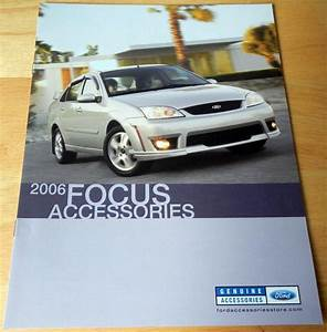 Sell, 2006, Ford, Focus, Accessories, Catalog, Brochure, In, Clawson, Michigan, Us, For, Us, 5, 99