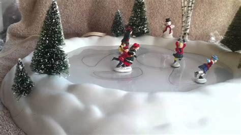 best 28 animated skating pond village animated skating