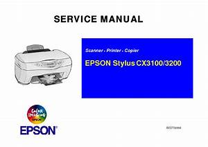 Epson Stylus Nx Sx Tx100 Me300 360 Service Manual Free