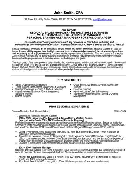 relationship or category manager resume