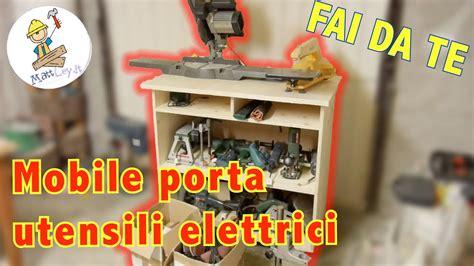 Banco Da Lavoro Porta Utensili Elettrici Fai Da Te