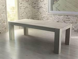 Esstisch Holz Weiß : esstisch massiv weiss ~ Whattoseeinmadrid.com Haus und Dekorationen