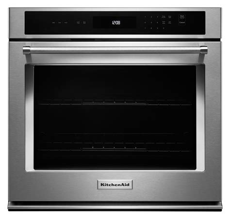 KitchenAid KOST107ESS 43 cu ft Single Wall Oven with