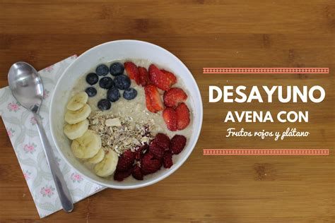 Desayuno Rápido Con Copos De Avena
