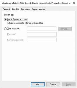 Windows 7 Stuck On Installing Update Windows Ce Device Does Not Connect With Windows 10 With
