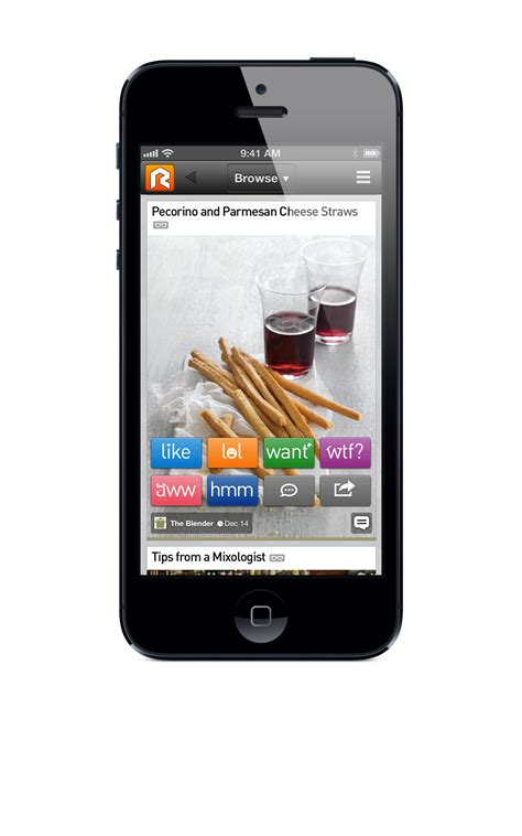 iphone browser rockmelt launches new media focused iphone app
