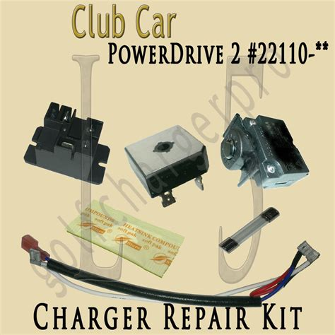 Battery Charger Model 22110 Club Car 48v Wiring Diagram by Club Car Golf Car Cart Powerdrive 2 Charger Repair Kit