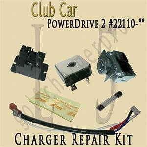Club Car Golf Car Cart Powerdrive 2 Charger Repair Kit