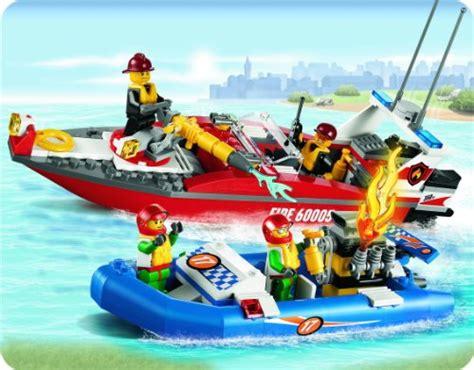 Imagenes De Barcos De Lego by Lego City 60005 Barco De Bomberos Quejugueteregalo Es