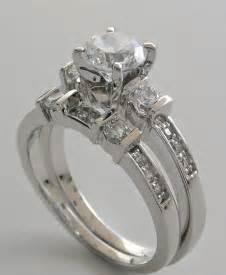 3 band wedding ring three wedding ring set