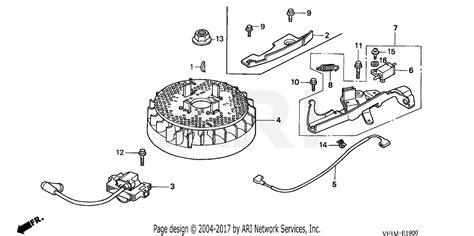 Honda Hrb Txa Lawn Mower Usa Vin Maaa Parts