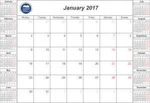 Free Printable Calendars January 2017 Com