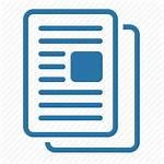 Icon Documentation Grey Icons Document Articles Publications