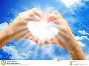 Love From Heaven Royalty Free Stock Photography - Image ...