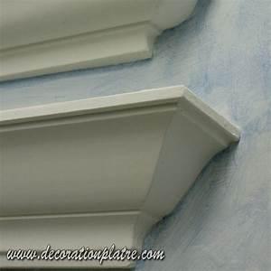 Corniche Plafond Platre : corniches lumineuses staff plafond ~ Edinachiropracticcenter.com Idées de Décoration