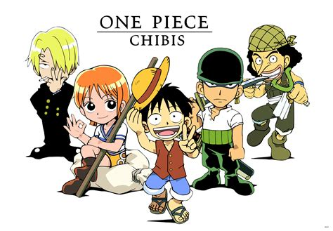 Chibis Of One Piece