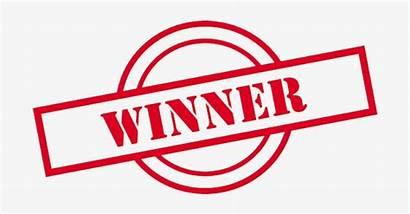Winner Stamp Win Clipart Prize Transparent Winners
