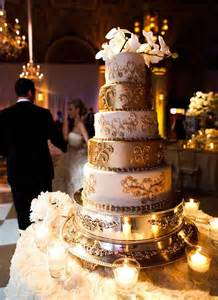 gold wedding cake gold wedding cake indian weddings cake by soma sengupta