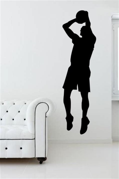 stickers cuisine originaux basketball player sport wall sticker wall stickers