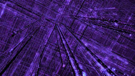 Grid, Purple, Abstract, Glowing, 3d, Digital Blasphemy