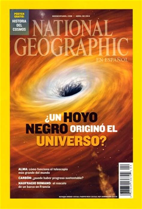 National Geographic En Espanol Magazine Covers {date
