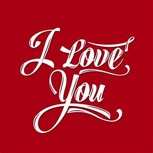 I love you red card Vector | Free Download