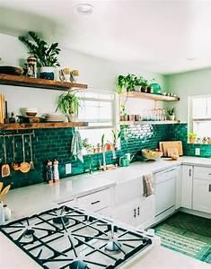 davausnet modele cuisine verte avec des idees With couleur gris clair peinture 4 cuisine leicht couleur verte