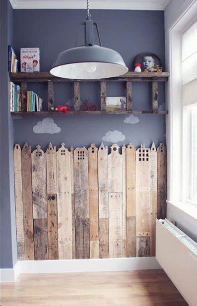 ideas originales  decorar dormitorios  palets