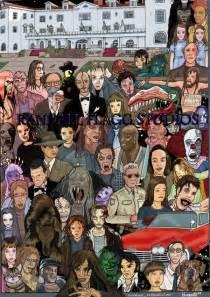 Stephen King Characters Fan Art