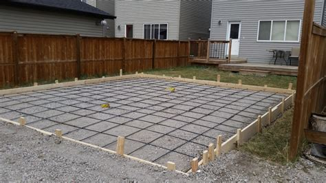 cost to pour a garage slab goodstone calgary s concrete contractors