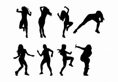 Zumba Dance Silhouettes Fortnite Svg Dancing Danse
