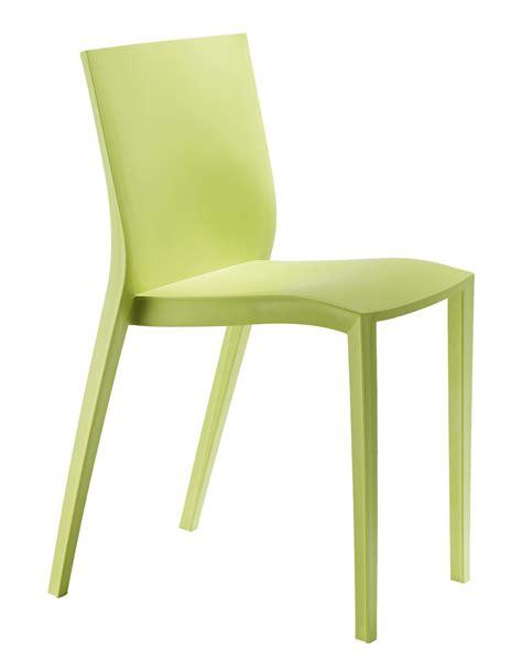 Chaise Starck Slick Slick chaise empilable slick slick by philippe starck vert anis