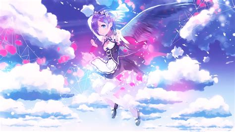 Anime Wallpapers Hd 1920x1080 - rem re zero wallpaper 183 free cool hd backgrounds