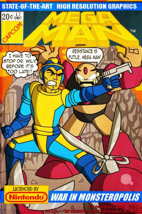 Mega Man Tribute By Brokenteapot On Deviantart