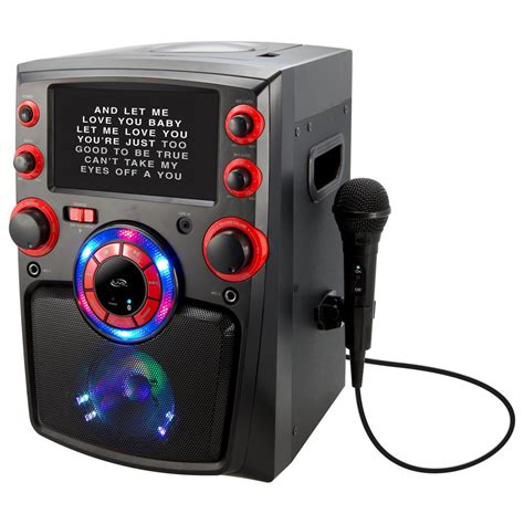gifts for karaoke fans ilive bluetooth karaoke machine with 7 in tft monitor and
