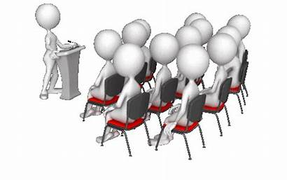 Stick Gifs Podium Figures Point Power Speech