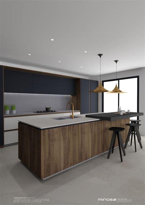 Kitchen Design Ideas Photo Gallery - minosa striking kitchen design with rich wood copper