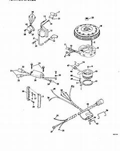 Johnson Ignition System Parts For 1980 70hp J70elcsa