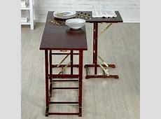 Joy Mangano Totally Tables Adjoining Tray Tables Set of 5