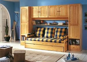 Armoire Pont De Lit : chambre a coucher complete rea chambre pont rea decopin ~ Teatrodelosmanantiales.com Idées de Décoration