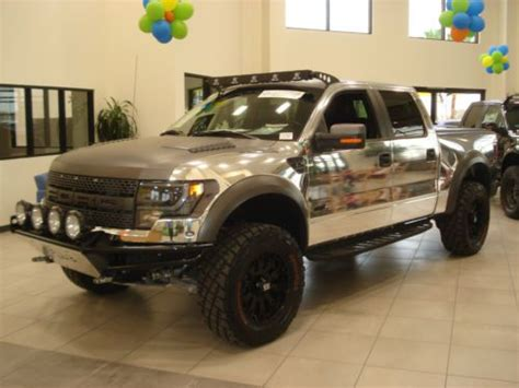buy   chrome wrap ford raptor certified vehicle