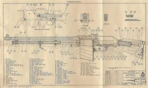 Vintage Outdoors  Sectional Diagram Of The Model 1918 Bar