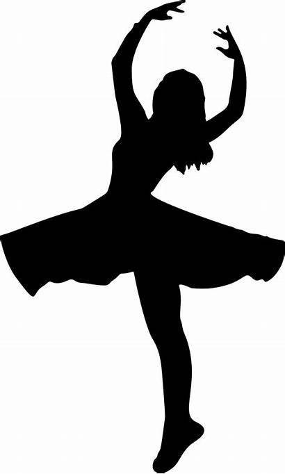 Silhouette Dancer Ballet Woman Ballerina Dancing Female