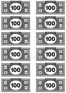 monopoly money 10039s by leighboi on deviantart With monopoly money templates