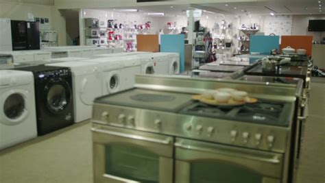 4k Customers Shopping In A Store Selling Kitchen
