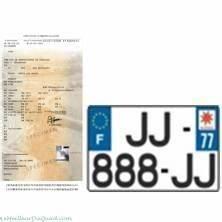 Pose De Plaque D Immatriculation : carte grise certificat d 39 immatriculation quads kazuma motor france europe la qualit ~ Medecine-chirurgie-esthetiques.com Avis de Voitures